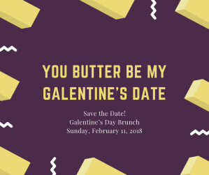 You butter be my 